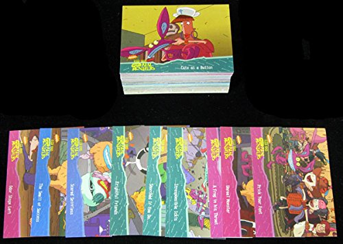 1995-viacom-fleer-real-monsters-trading-card-set-100-has-coloring-cards