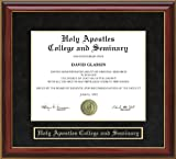 Holy Apostles College and Seminary Diploma Frame - Mahogany