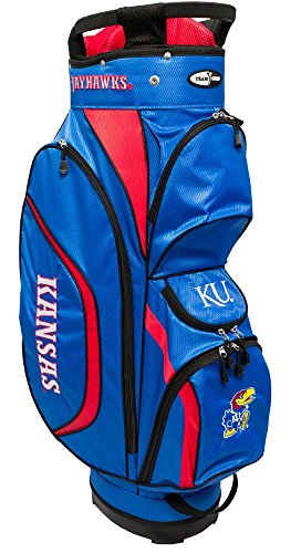 Team Golf NCAA Clubhouse Cart Bag, Kansas by Team Golf