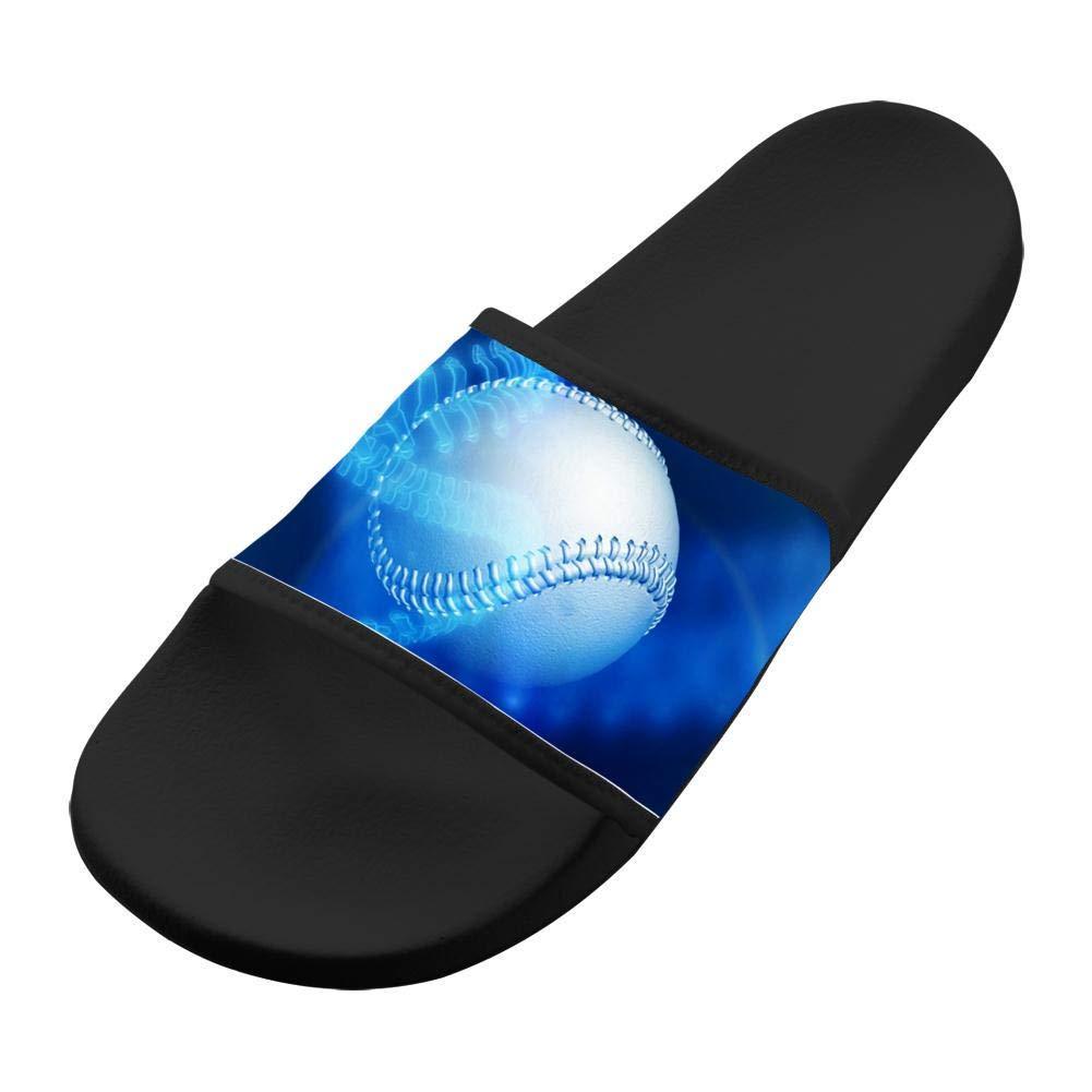 Baseball Batter Hitter Kids Slippers Original EVA Sandals Shoes Indoor Flip-flops Girl Boy