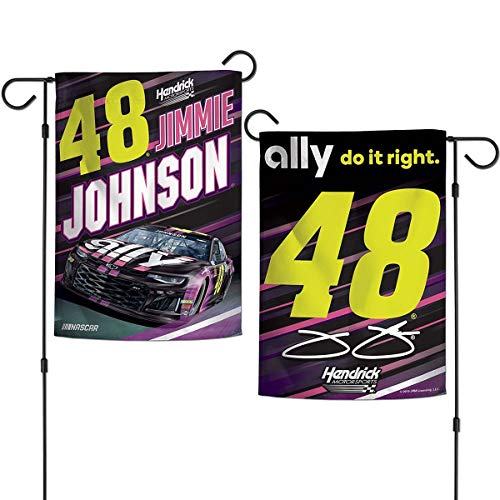 (Wincraft Jimmie Johnson Double Sided Garden Flag )