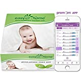 Easy@Home 40 Ovulation Test Strips and 10 Pregnancy Test Strips Kit-The Reliable Ovulation Predictor Kit (40 LH + 10 HCG), Powered by Premom Ovulation Predictor iOS and Android App