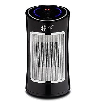 GEXIA Ventilador Calentador Doble Uso (Negro)