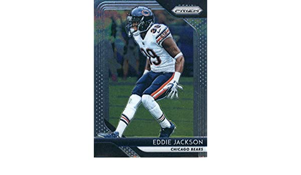 Amazon.com  2018 Panini Prizm  167 Eddie Jackson Chicago Bears NFL Football  Trading Card  Collectibles   Fine Art 7fac3ac27