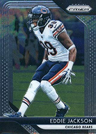 2018 Panini Prizm  167 Eddie Jackson Chicago Bears NFL Football Trading Card 8cef0469d