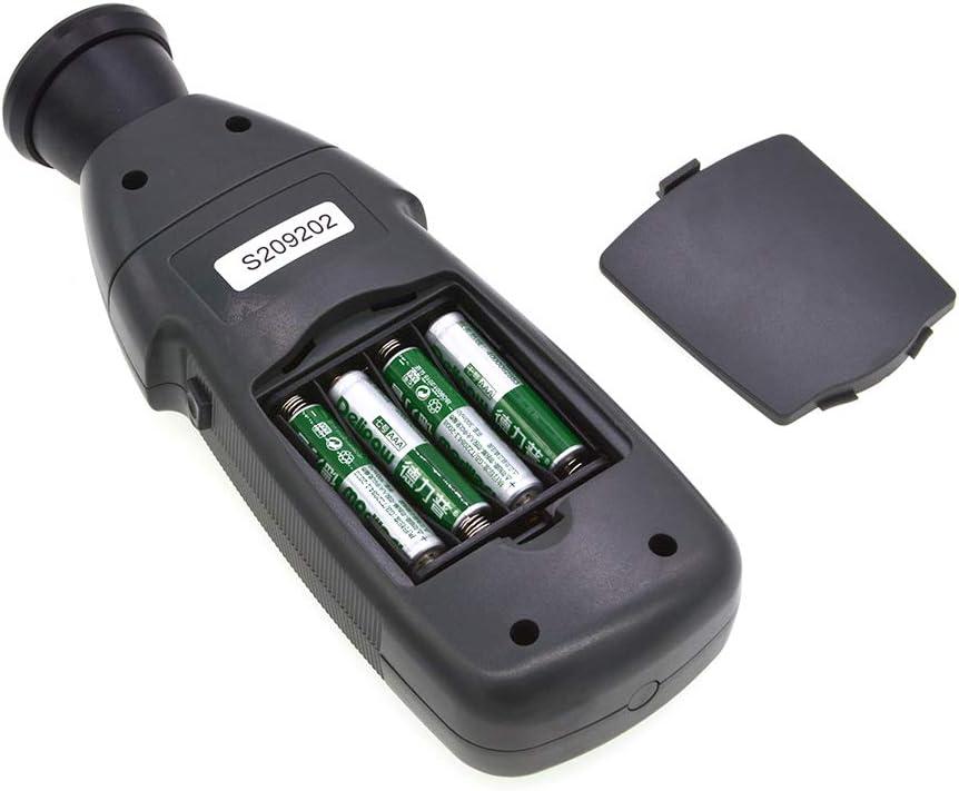 BEESCLOVER DT2239B Digital LCD Non-Contact Flash Stroboscope Tachometer Photoelectric Revolution Meter Speedometer Tester 60~19999RPM for ce