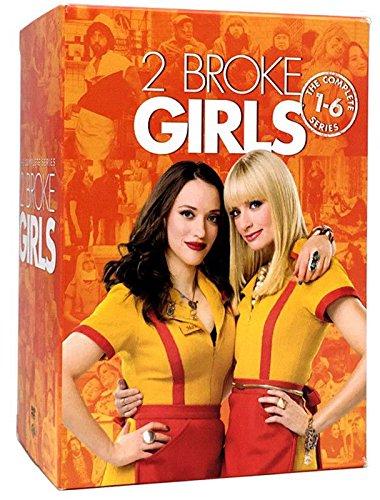2 Broke Girls: The Complete Series (17-Disc DVD Box Set) Seasons 1 2 3 4 5 6 by Brand new