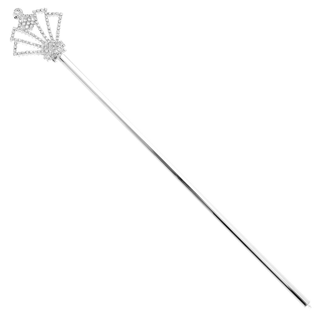 Rosemarie Collections Women's Fairy Princess Magic Scepter Wand (Royal Court)