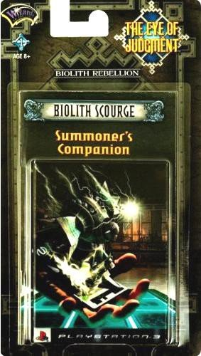 The Eye of Judgment: Biolith Scourge Theme Deck - Playstation 3
