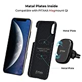 PITAKA Magnetic Slim Case Compatible with iPhone Xs