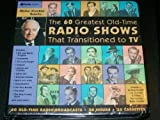 Walter Cronkite Selects: The 60 Greatest Old-Time Radio Shows That Transitioned to TV  (20 cassettes, 30 hours)