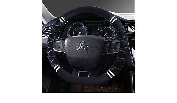 Felpa corto invierno tapacubos nuevo Citroen Elysee Sega-XR C3 C5 C2 C6 C4L Clásico,D Modelo B - Negro [comentario]: Amazon.es: Coche y moto