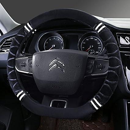 Felpa corto invierno tapacubos nuevo Citroen Elysee Sega-XR C3 C5 C2 C6 C4L Clásico,D Model [Negro] - Un comentario: Amazon.es: Coche y moto