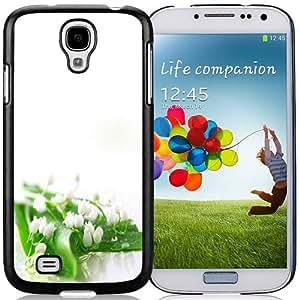 Beautiful Custom Designed Cover Case For Samsung Galaxy S4 I9500 i337 M919 i545 r970 l720 With Lily of the Valley Phone Case