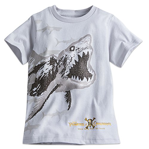 Disney Ghost Shark Tee For Boys - Pirates Of The Caribbean: Dead Men Tell No Tales Size S (5/6) for $<!--$17.99-->