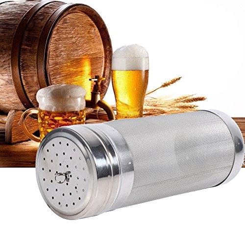 Beer Dry Hopper Filter,304 Stainless Steel Hopper Spider Strainer 300 Micron Mesh Tea Kettle Brew Filter by Fdit (Image #6)