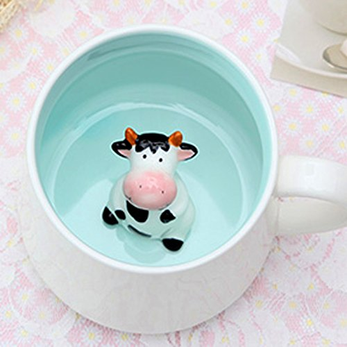 3D Cute Ceramic Mug Super Power Ceramic Mugs