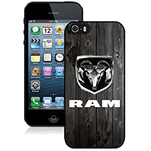 DIY iPhone 5s Case Design with Dodge Ram Cell Phone Case for Iphone 5 5s Generation in Black by lolosakes