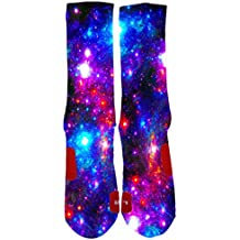 Kalily Brand New Custom Galaxy Elite Socks With Design
