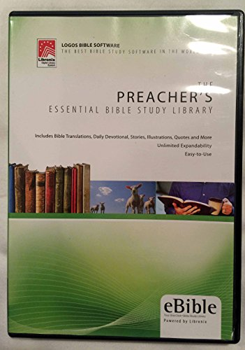 Preachers Essential Bible Study Library