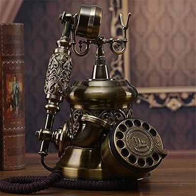 Vintage Retro Teléfono El tocadiscos antiguos continental Teléfono ...