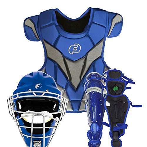 Force3 Pro Gear Catcher's Gear Full Set (Royal, Adult) -