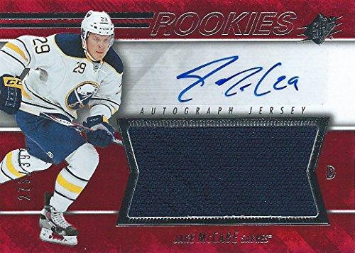 (HCW) 2014-15 Upper Deck SPX JAKE McCABE Jersey Auto Rookie 273/999 NHL (Ahl Hockey Jerseys)