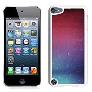 Lovely and Durable Cell Phone Case Design with iOS7 Infrared Colors Scratches iPod Touch 5 Wallpaper in White