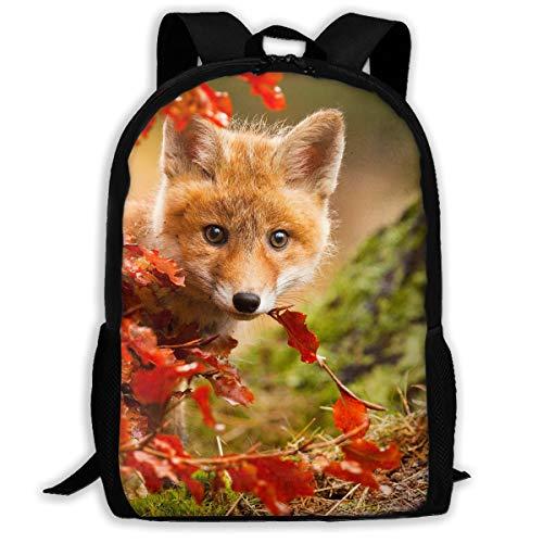 Webb Backpack Briefcase Laptop Travel Hiking School Bags Fox Stylish Daypacks Shoulder Bag