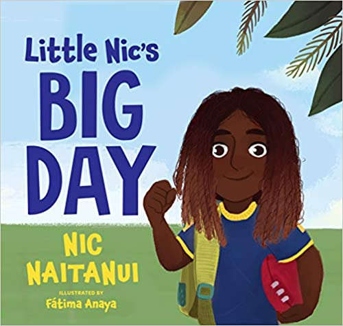 Children's book cover for Little Nic's Big day by Fatima Anaya and Nic Naitanui for 18 children's books to teach children about social issues