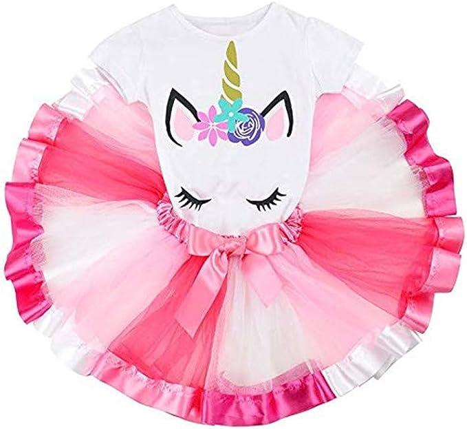 Disfraz de unicornio de tul, vestido de fiesta de disfraces de ...