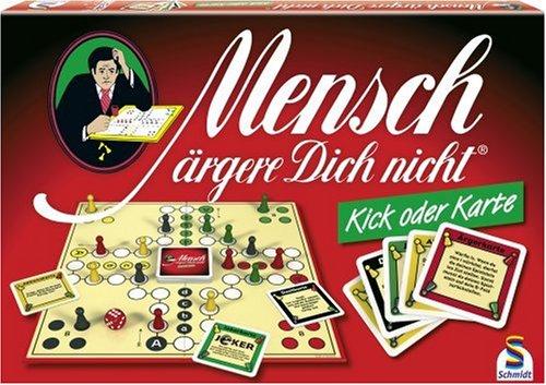 Schmidt Spiele 49087 - Mensch ärgere Dich nicht, Kick oder Karte