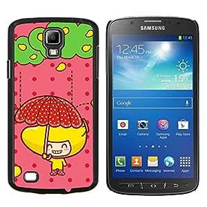 TECHCASE---Cubierta de la caja de protección para la piel dura ** Samsung Galaxy S4 Active i9295 ** --Naturaleza Mountan Nieve