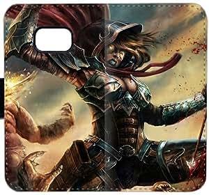 Diablo S Juegos Pc Osf A7I3O Funda Samsung Galaxy Note caja de la carpeta de cuero Funda Caso 5 1yyB75 Moda Teléfono Móvil Flip funda único