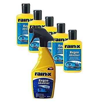 Lluvia X repelente de lluvia botella de Spray limpiador de parabrisas de coche vidrio parabrisas limpiaparabrisas 1500 ml: Amazon.es: Coche y moto