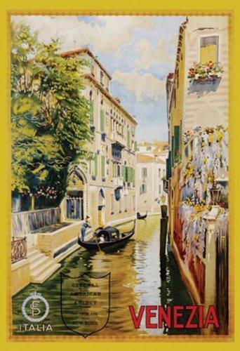 Buyartforless Venezia by Leopoldo Metlicovitz Vintage 36x24