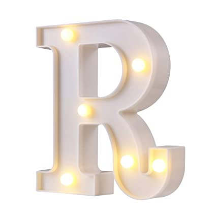 Amazon.com: Letras de luces LED para carteles, 26 letras con ...