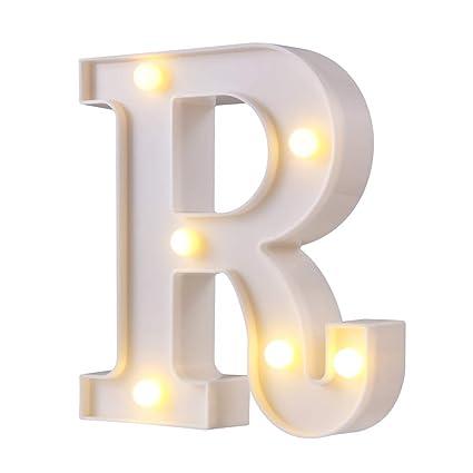 Amazon.com: Letras de luces LED para carteles, 26 letras con ...