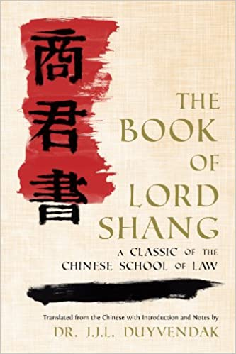 Amazon the book of lord shang a classic of the chinese amazon the book of lord shang a classic of the chinese school of law 9781616191870 yang shang books fandeluxe Image collections