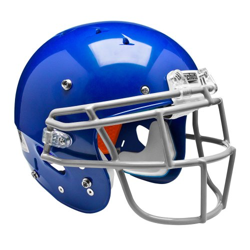 Schutt Sports Youth Recruit Hybrid Football Helmet without Faceguard, XX-Small, Royal Blue