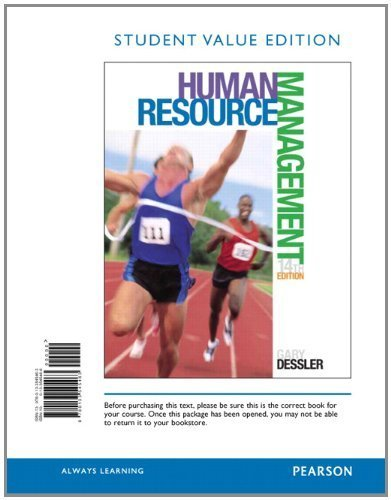 Amazon.com: Human Resource Management, Student Value Edition ...