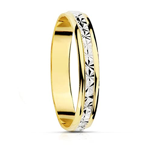 completamente elegante marcas reconocidas venta al por mayor Alianza Oro Clara 3 mm 9 kilates - Personalizable, grabado ...