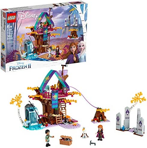 LEGO Disney Frozen II Enchanted Treehouse 41164 Toy Treehouse Building Kit featuring Anna Mini Doll and Bunny Figure for Pretend Play, New 2019 (302 Pieces)