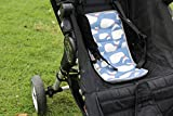 Car Seat Cooler for Baby Strollers, Carseats, Baby Carriers. Effortlessly Keep Baby Cool in Summer. This Cooling Pad Easily Attaches to Infant Car Seats, Strollers, or use as a Backpack. Blue Large Review