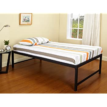 kings brand b39 1 b39 2 metal day bed frame twin black