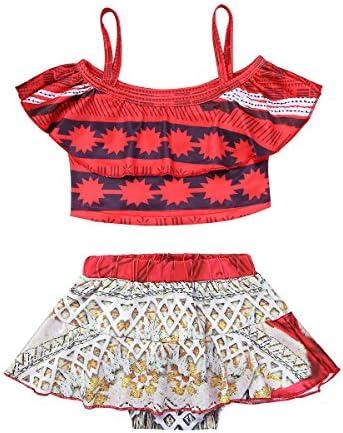 Moana Swimsuit for Girls   Moana swimsuit, Moana outfits