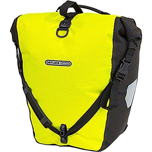 Ortlieb Back-Roller High-Visibilty Pannier - Single Neon Yellow/Black Reflex, One Size