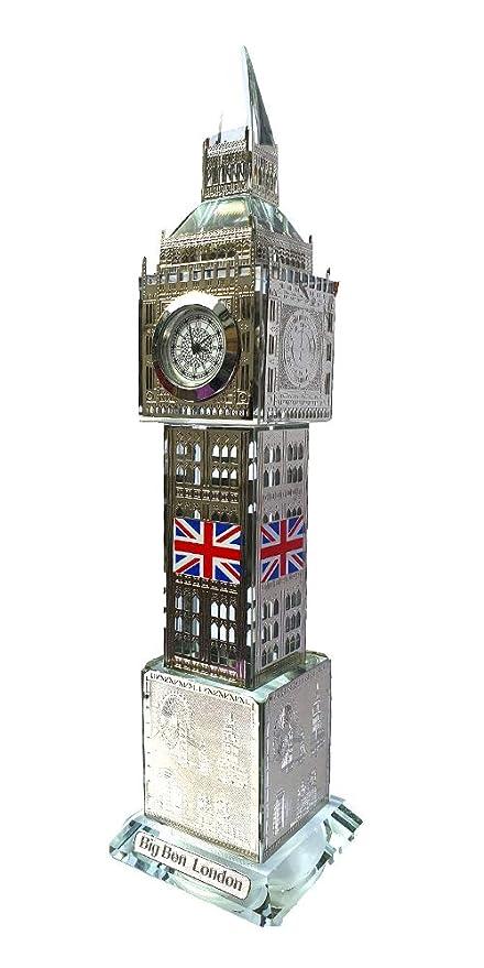IPEAK London Souvenirs, London Big Ben Reloj con Luces ...