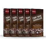 Bija Chocolates Organic 80% Pure Cacao Dark Chocolate, 3.17 Ounce (pack Of 5)
