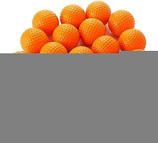 SHUFAGN,20pcs Balle en Mousse élastique en PU pour l'entraînement Sportif extérieur en intérieur.(Color:Jaune)